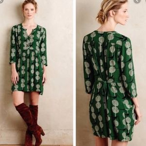 Anthropologie Maeve Devery Dress